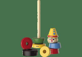 BRIO Clown Holzspielzeug, Mehrfarbig