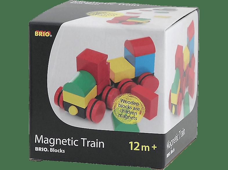 BRIO Magnetischer Holz-Zug Bausatz, Mehrfarbig