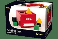 BRIO Rote Sortier-Box Spielset, Mehrfarbig
