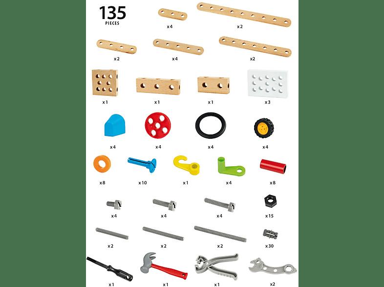 BRIO Builder Box 135teilig Spielset, Mehrfarbig