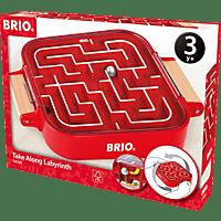 BRIO Mitnehm-Labyrinth Lernspielzeug, Mehrfarbig