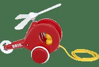 BRIO Nachzieh-Hubschrauber Nachziehspielzeug, Mehrfarbig