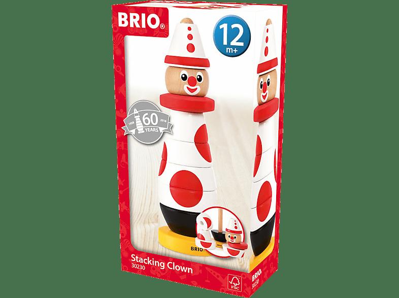 BRIO Clown 60. Geburtstag Spielset, Mehrfarbig
