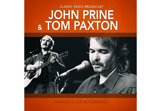 John & Tom Paxton Prine - Nashville L:ive Recordings  - (CD)