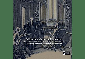 Koopman, Ton / Mathot, Tini  / Mertens, Klaus - 'Willst Du Dein Herz Mir Schenken'  - (CD)