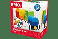 BRIO Neuer Holz-Magnet-Zug Spielset, Mehrfarbig