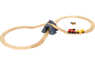BRIO Bahn Acht Tunnel Set Spielset Mehrfarbig