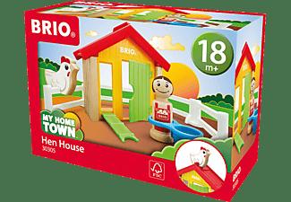 BRIO Hühnerhaus Spielset Mehrfarbig