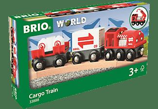 BRIO Güterzug mit Frachtladung Spielset Mehrfarbig
