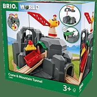 BRIO Grosse Goldmine mit Sound-Tunnel Spielset, Mehrfarbig