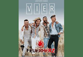 Feuerherz - Vier (Limited Fanbox)  - (CD)