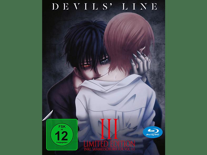 Devils' Line Vol.3 BD+Sammelschuber (Limited Ed [Blu-ray]