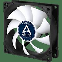 ARCTIC F8 Silent Gehäusekühlung, Schwarz/Weiß