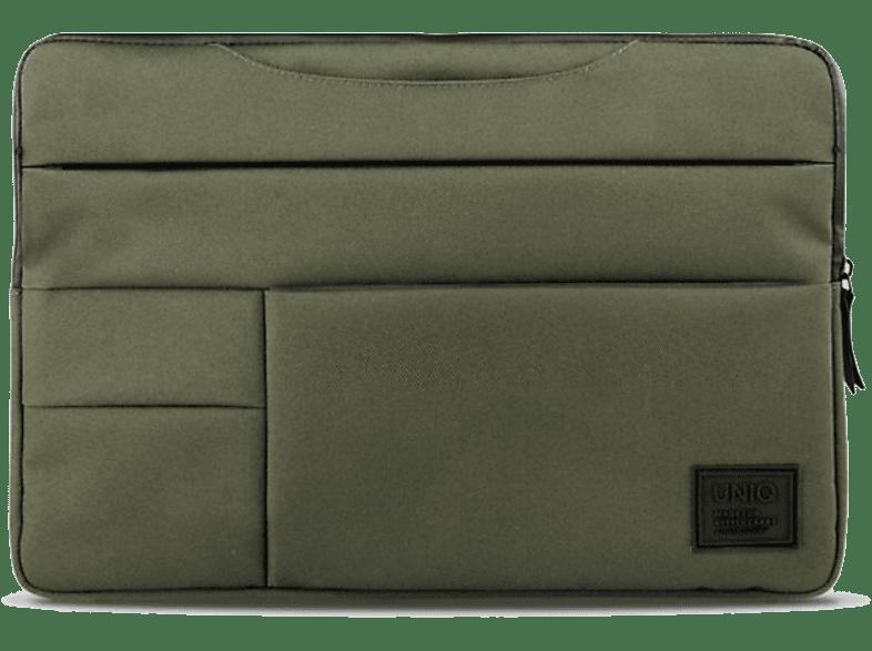 UNIQ Laptophoes 2 en 1 Cavalier 14'' Groen (107913)