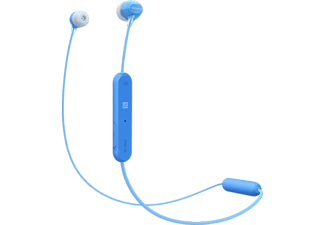 SONY WI-C300, In-ear Kopfhörer Bluetooth Blau