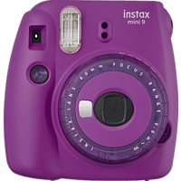 FUUJIFILM instax mini 9 Sofortbildkamera, Clear Purple
