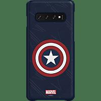 SAMSUNG Captain America , Backcover, Samsung, Galaxy S10, Kunststoff, Mehrfarbig