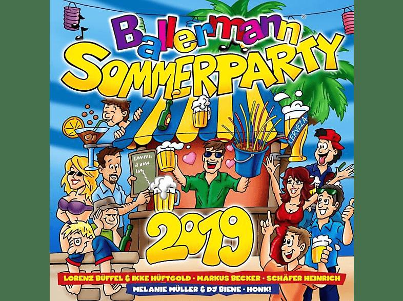 VARIOUS - Ballermann Sommerparty 2019 [CD]