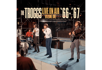 The Troggs - LIVE ON AIR 1 66- 67  - (Vinyl)