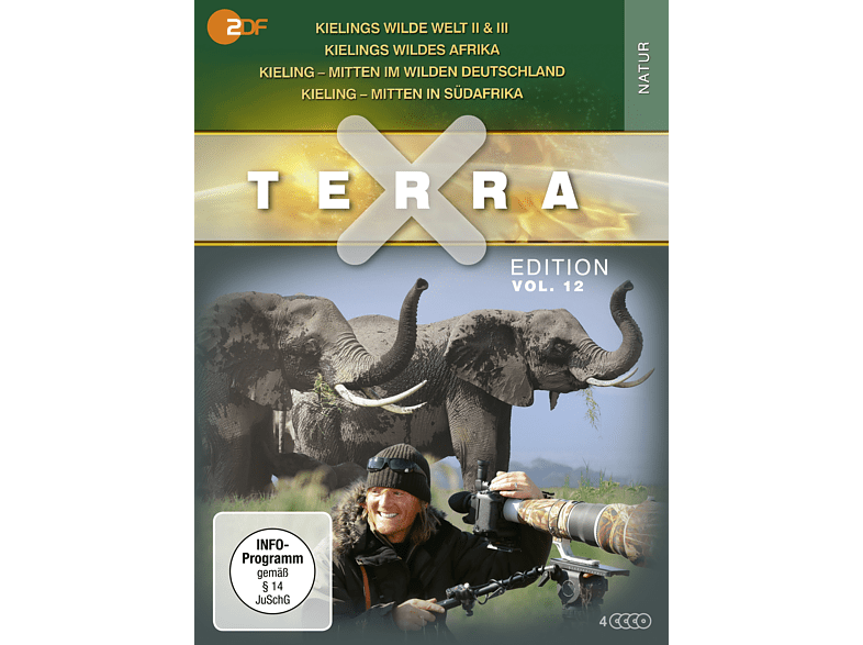 Terra X - Edition Vol. 12 [DVD]
