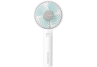 STYLIES Lacerta - Ventilateur à main (Blanc/Bleu)