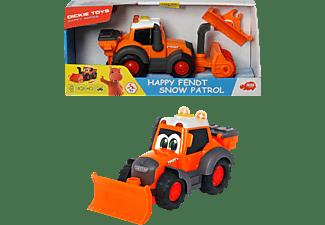 DICKIE TOYS Happy Fendt Snow Patrol Spielzeugbagger Orange