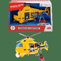 DICKIE TOYS Rescue Copter Spielzeughubschrauber, Gelb