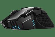 CORSAIR IRONCLAW, RGB-Gaming-Maus, kabellos Gaming Maus, Schwarz