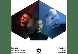 Mittelhammer,Ludwig/Ware,Jonathan - Schubert-Wolf-Medtner  - (CD)