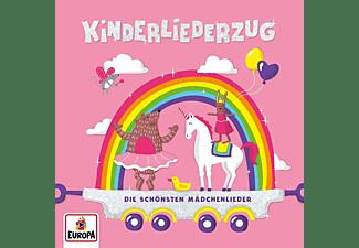 Felix & Die Kita-kids Lena - Kinderliederzug-Die schönsten Mädchenlieder  - (CD)