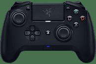 RAZER Raiju Tournament Edition 2019 - Kabelloser und kabelgebundener PS4/PC Controller, Schwarz