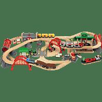 BRIO Straßen & Schienen Bahn Set Deluxe Spielset Mehrfarbig
