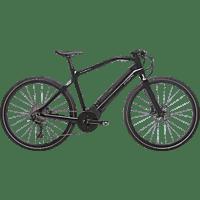 PININFARINA DPE0419-5302 PED Urbanbike (28 Zoll, 53 cm, Diamant, 489.6 Wh, Schwarz)