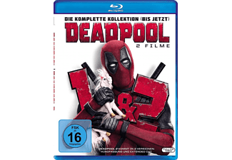- Deadpool 1 & 2 Blu-ray