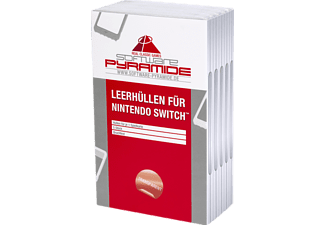 SOFTWARE PYRAMIDE Switch-Leerhüllen, 5er-Pack Leerhüllen, Transparent