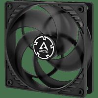 ARCTIC P12 PWM PST Gehäusekühlung, Schwarz/Transparent