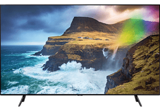 SAMSUNG GQ75Q70R QLED TV (Flat, 75 Zoll / 189 cm, UHD 4K, SMART TV)