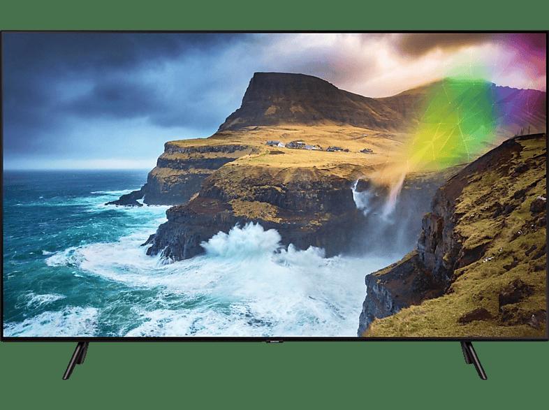 SAMSUNG GQ75Q70RGTXZG QLED TV (Flat, 75 Zoll/189 cm, UHD 4K, SMART TV)