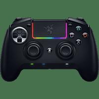 RAZER Raiju Ultimate 2019 - Kabelloser und kabelgebundener PS4/PC Controller Schwarz