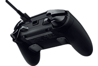 RAZER Raiju Ultimate 2019 - Kabelloser und kabelgebundener PS4/PC Controller, Schwarz