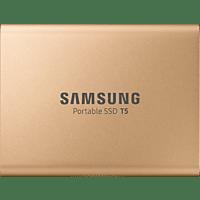 SAMSUNG Portable SSD T5, 1 TB SSD, 2.5 Zoll, extern, Rosegold