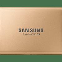 SAMSUNG Portable SSD T5, 500 GB SSD, 2,5 Zoll, extern, Rosegold