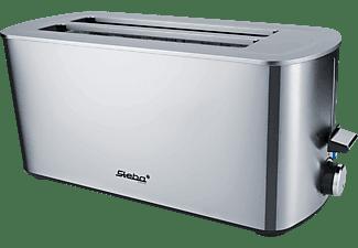 STEBA TO 21 Toaster Edelstahl (1400 Watt, Schlitze: 2)