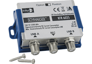 SCHWAIGER KFR6025 DiSEqC 2.0 Schalter