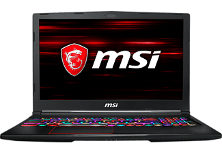 MSI Gaming Notebook GE63 9SG-620 Raider, schwarz (0016P7-620)