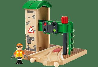 BRIO Signal Station Zubehör für Eisenbahn, Mehrfarbig