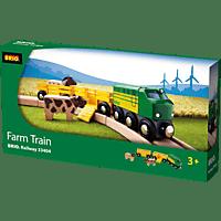 BRIO Bauernhof-Zug Eisenbahn, Mehrfarbig