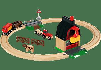 BRIO Bahn Bauernhof Set Eisenbahn, Mehrfarbig