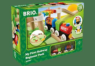 BRIO Mein erstes Bahnspielset Spielset, Mehrfarbig