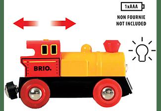 BRIO Zug mit Batterielok Spielset, Mehrfarbig